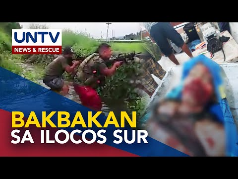 [UNTV]  1 sundalo, 2 NPA, patay sa bakbakan sa Ilocos Sur