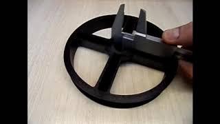 Ременной шкив для бетономешалки Altrad Liv 145 NG от компании Инструментик - видео