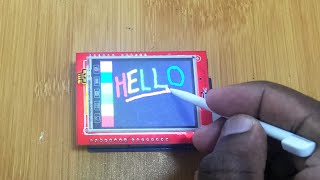 """2.4""""  TFT LCD TOUCH SCREEN SHIELD FOR ARDUINO. (Troubleshooting white screen and touch problems)"""