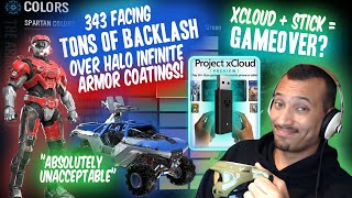 MASSIVE Backlash AGAINST 343 Over Halo Infinite Armor Coatings!? GAME OVER xCloud Streaming STICK!?
