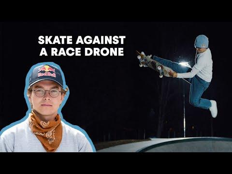Skate Against A Race Drone | Karl Berglind 'Lunar Landscapes'