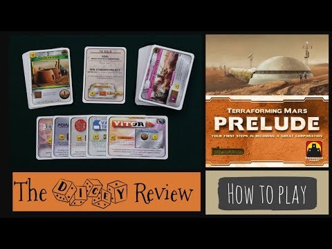 Terraforming Mars: Prelude - A Dicey Overview!