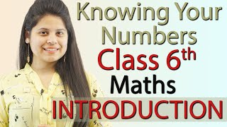 Introduction - Knowing Our Numbers - Chapter 1 - Class 6th Maths