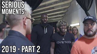 Jake Paul and Team 10 Serious Moments 2019 - Part 2 (Arguments, Fights, Trash Talking)