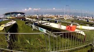preview picture of video 'Thonon les Bains - Championnat de France d'aviron de Mer 2013'