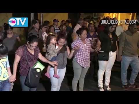 Matagalpinos unidos en oración por la Paz de Nicaragua