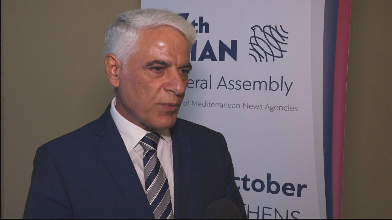Δήλωση Γιώργου Πενηνταέξ στη γενική συνέλευση των Πρακτορείων της Μεσογείου