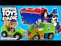 PAW PATROL Misson Paw Surprise Toys Magic with Spider-Man & Batman 🔥 Blaze and the Monster Machines