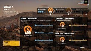 Season 7 Week 1/4 Task Force Challenge Kill El Boquita - Ghost Recon Wildlands