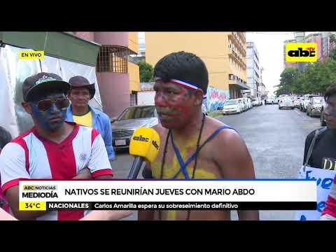 Nativos se encontrarán el jueves con Mario Abdo