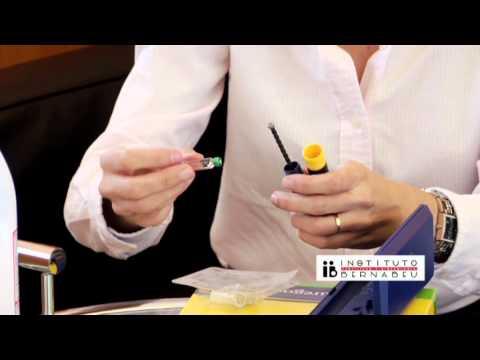 Istruzioni puregón: preparazione e somministrazione del medicinale. Instituto Bernabeu