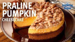 How to Make Praline Pumpkin Cheesecake by Chef Eddy Van Damme