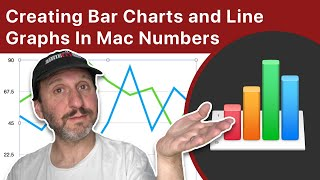 Creating Bar Charts and Line Graphs In Mac Numbers