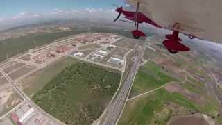 preview picture of video 'Vuelo de ida y vuelta desde Brunete a Sonseca (completo)'
