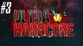 Minecraft: ULTRA HARDCORE SURVIVAL Ep 3 - FLOATING