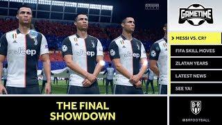 Messi vs. Ronaldo The Decider | Best FIFA 20 Skill Moves | Zlatan Evolution | GameTime Episode 12
