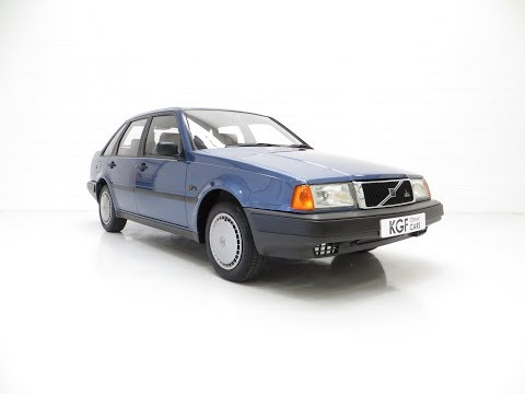 An Exceptional Volvo 440 1.6Li With One Owner And 29,812 Miles From New - SOLD!