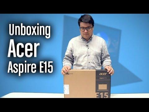 Acer Aspire E15: Unboxing completo y características
