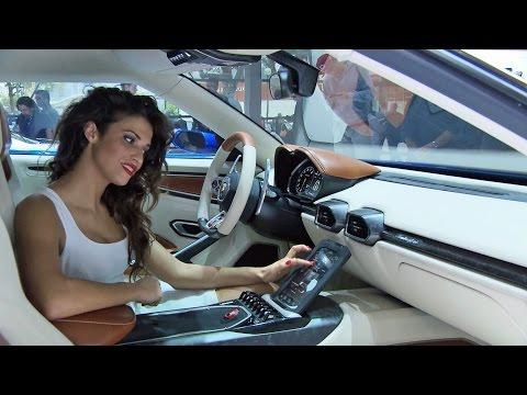 Khám phá nội thất siêu xe Lamborghini Asterion