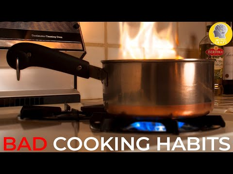 EXTREMELY BAD COOKING HABITS TO STOP