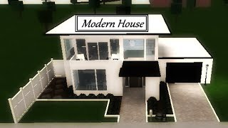 Roblox Welcome To Bloxburg Modern House