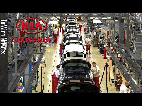Kia Production Plant Zilina, Slovakia – Ceed, ProCeed, Sportage, Venga