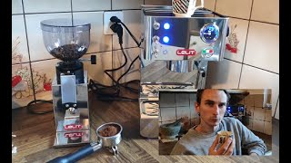Lelit PL41LEM Siebträger Espresso und Lelit Mahlwerk Fred - Produktvorstellung Bernard's Kaffee ;)