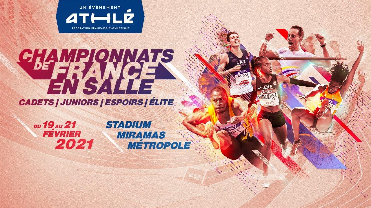 Championnats de France d'athlétisme en salle Elite et jeunes 2021: Session Une