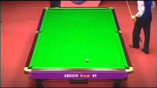 Peter Ebdon v s hendry 2006 world championship final Video