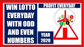 How To Win Lotto Everyday With Odd And Even Numbers