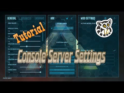 ARK complete guide to hosting nitrado servers part 2