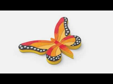 Ellison Education Lesson Plan #12067: Butterfly Notepad