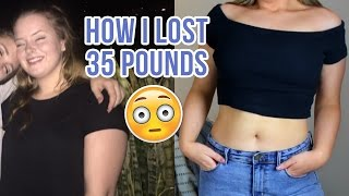 HOW I LOST 35+ POUNDS | Molly Anne