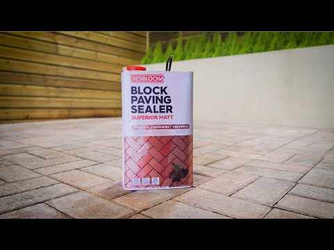 Resiblock – The Superior Block Paving Sealer