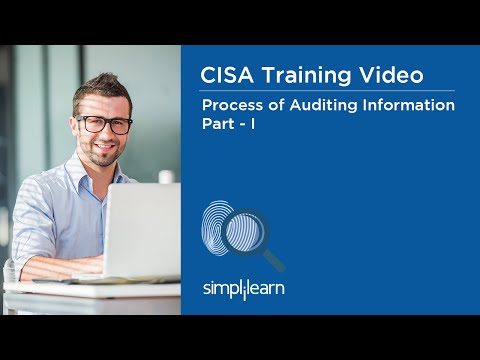 CISA Training Video | Process of Auditing Information Systems - Part ...