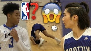 HS TO PRO!?! Anfernee Simons TOYING WITH DEFENDERS! TOO EASY FOR ERIC AYALA AND JAYDEN HARDAWAY