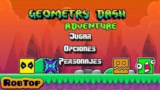 NUEVO JUEGO de GEOMETRY DASH *THE ADVENTURE* - MiKha