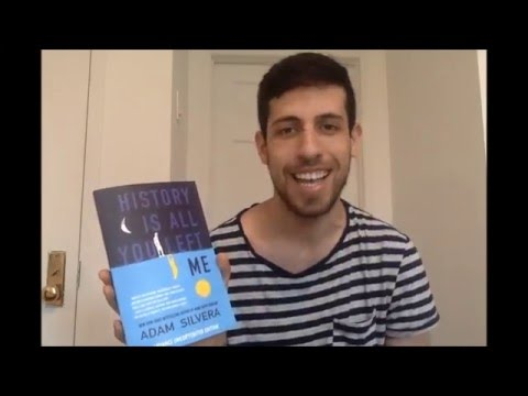 Adam Silvera HISTORY IS ALL YOU LEFT ME cover reveal!