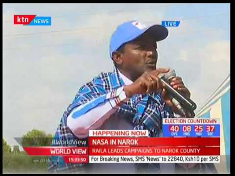 NASA brigade in Narok : Kalonzo's speech