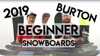 2019 Burton Beginner Snowboards Overview
