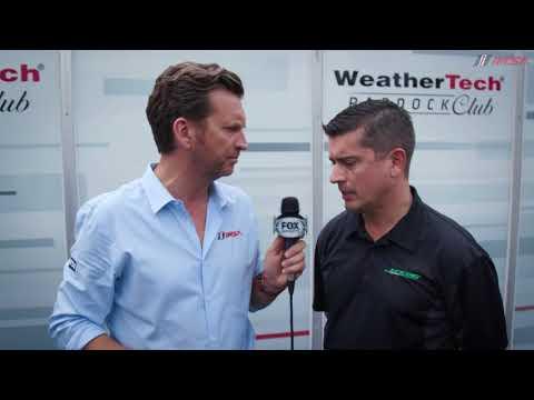 Verizon IndyCar Series Team Owner Ricardo Juncos Visits IMSA At Road America