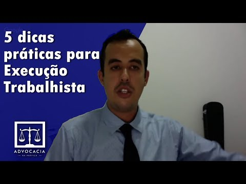 , title : 'LIVE 5 dicas práticas para Execução Trabalhista