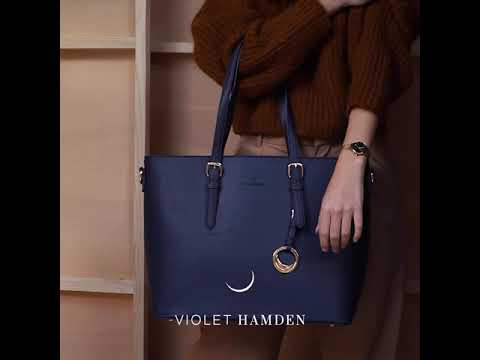 Violet Hamden Evening Star goldfarbenen Shopper