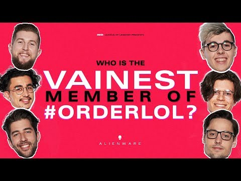 Who Is The Vainest Person On The Team? | #ORDERLOL