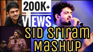 Sid Sriram Mashup   Tamil Love Mashup | GiJoSa |