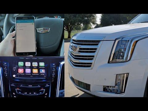 2016 Cadillac Escalade: Top 5 Favorite Features (CarPlay/4G LTE)