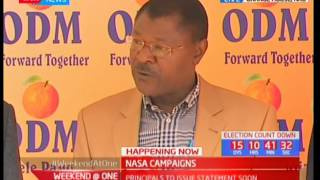 Moses Wetangula claims Jubilee has been used to loot the public