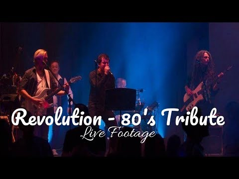 80s Tribute Band - Revolution Video