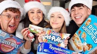 CHRISTMAS TREAT BAKING With FRANNY, SYDNEY & COREY!!
