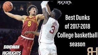 Best College Dunks of 2017-2018 College Basketball Season